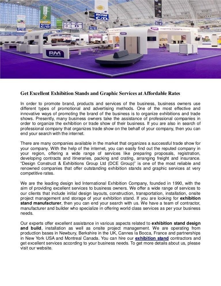 Exhibition Stand Manufacturer : Exhibition stand manufacturer