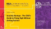 RSAC 2016: CISO's guide to Startups