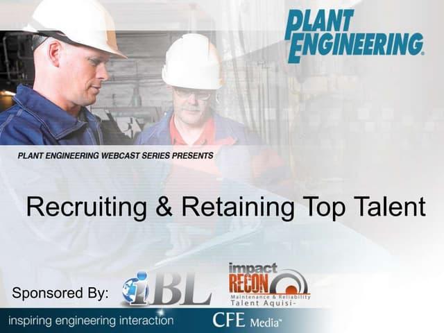 Recruiting & Retaining Top Talent