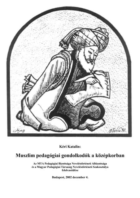Muszlim pedagógiai gondolkodók a középkorban