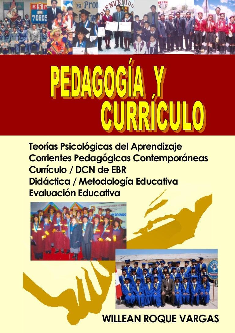Pedagogia y-curriculo