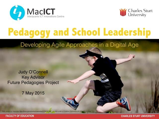 Pedagogy  and School Leadership