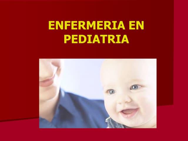 Pediatria en enfermeria