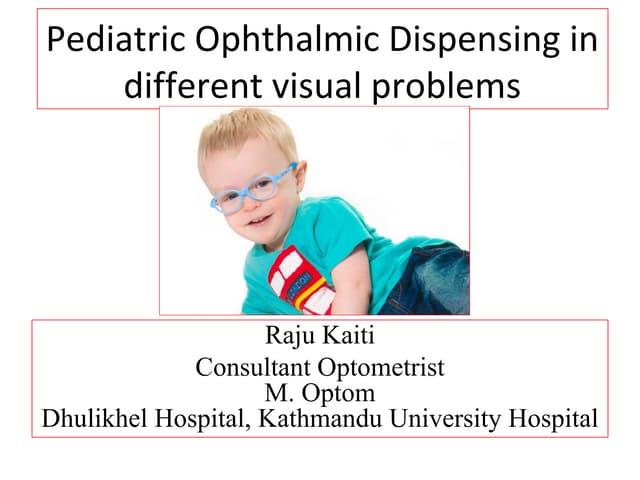 20fc3a7892 David willson paediatric dispensing