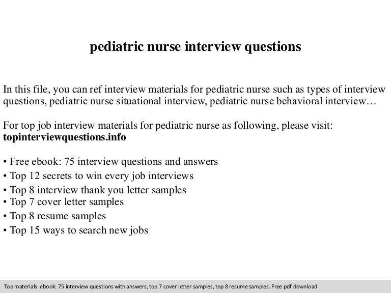 Sample Cover Letter For Nursing Resume