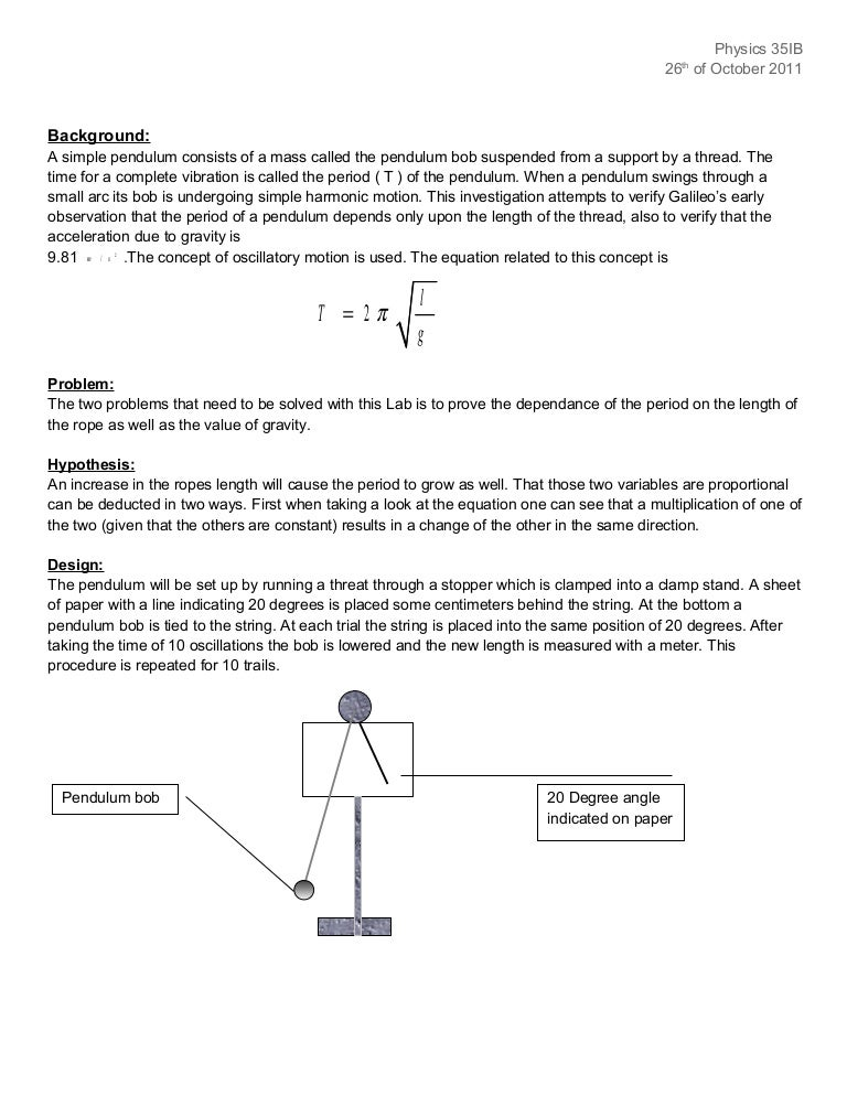 ib physics mechanics loop lab essay Free practice questions for ap physics 1 - centripetal force and acceleration  at the top of the loop, the centripetal force will be due to a combination of the.
