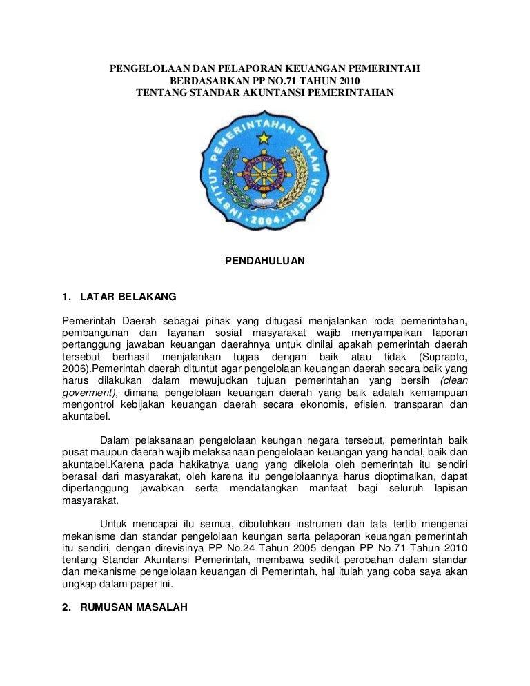 Proposal tesis manajemen keuangan daerah   Buy Original Essay repository UPI