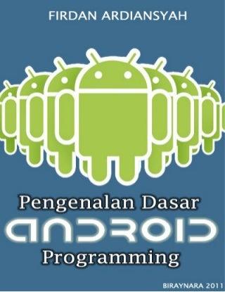 372 Dasar Pengenalan Android Programming