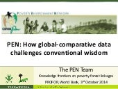 PEN: How global-comparative data challenges conventional wisdom