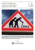 Grant Thornton - UK Pension De-risking: Longevity Hedging & Buying Out 2012