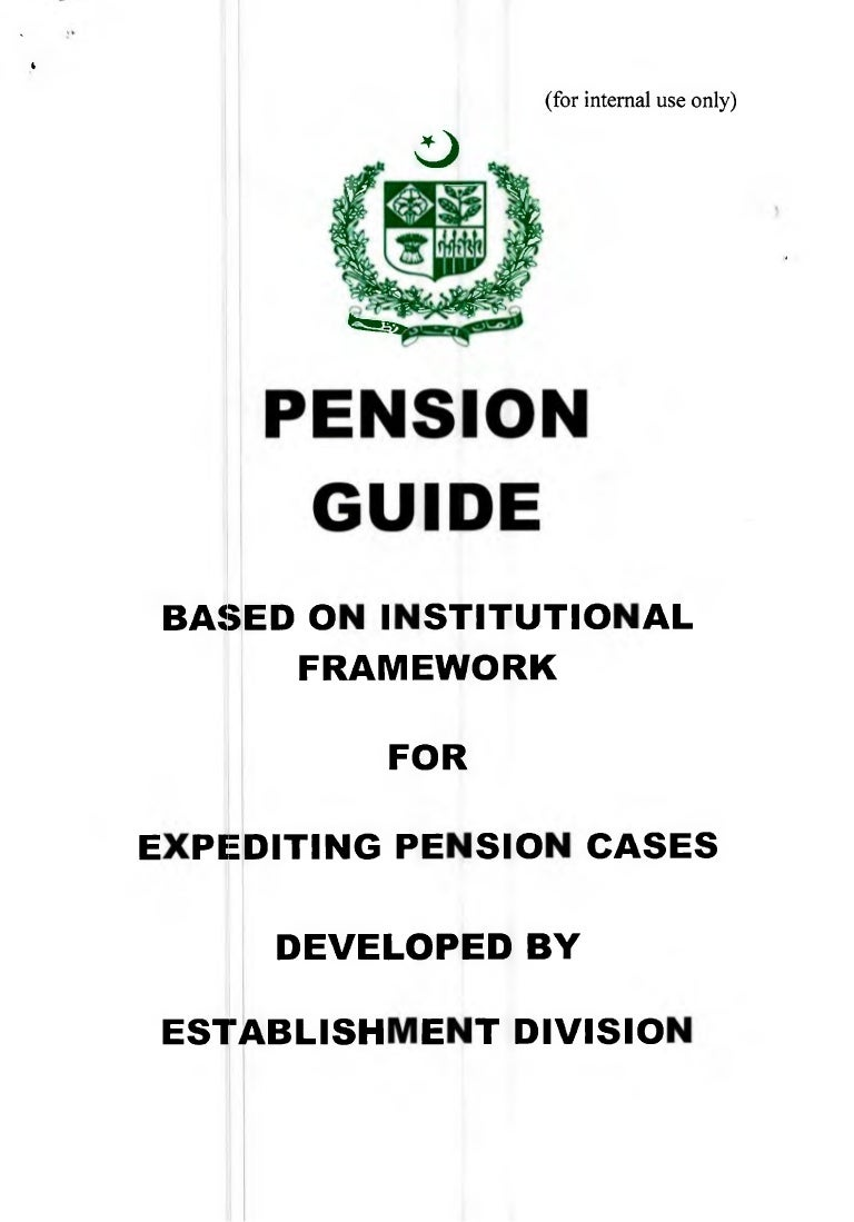 Pension guide