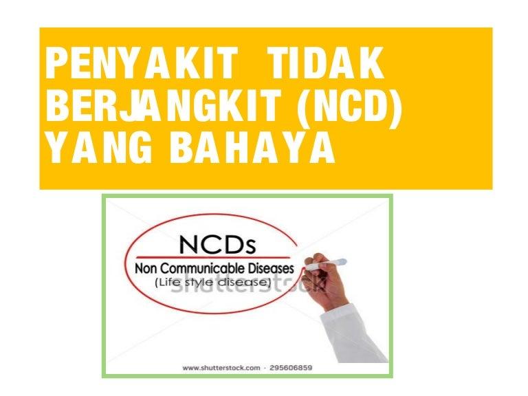 Penyakit Ncd Di Malaysia