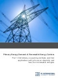 Primary Energy Demand of Renewable Energy Carriers - Part 1: Definitions and accounting methods