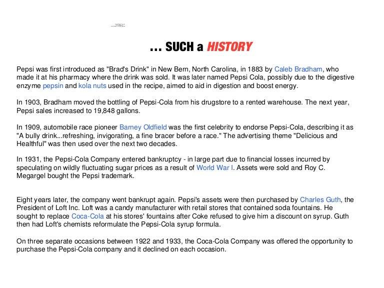 Pepsi History, Logo and Slogan Evolution