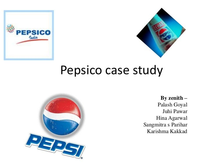 pepsi case study 2 essay The study would contribute towards identifying the customer needs and expectation towards pepsi in new delhi 1 e objectives and research questions of the study research objectives.
