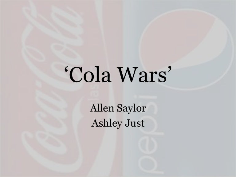 coke and pepsi learn to compete in india case study solution The case of coke and pepsi in india is definitely a good lesson for all marketers, since it involves so many aspects of marketing which are crucial to all marketers in the long-run indian beverage marketing campaign, both companies had many difficulties, especially coca-cola.