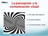 Percepcion y lacomunicación visual gaudem