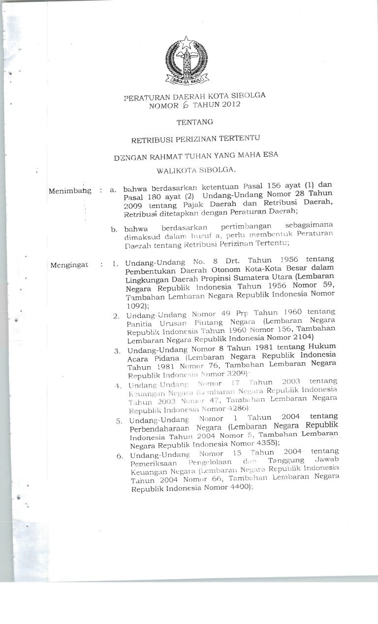Surat Pernyataan Kesanggupan Pembayaran Retribusi   Surat ...