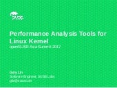 Performance Analysis Tools for Linux Kernel