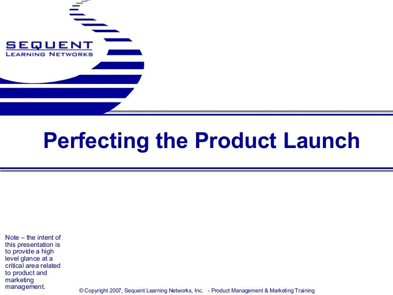 New Product Launch Plan Sample | Biginf