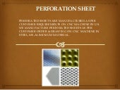 Perforated Sheet,Aluminium Material and Manufacturer in India
