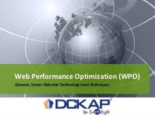 Performace optimization (increase website speed)