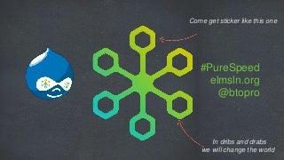 Pure Speed Drupal 4 Gov talk