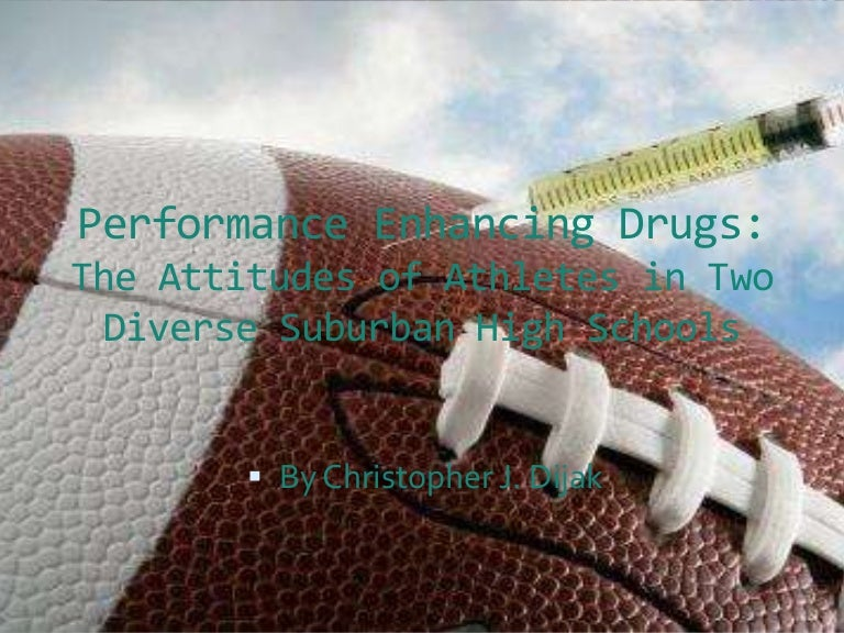 performance enhancing drugs