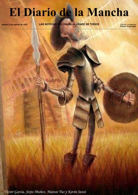El diario de la Mancha. Quijote News