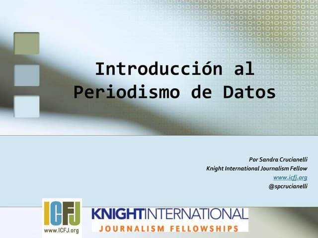 Periodismo de Datos: Definiciones y Buenas Prácticas