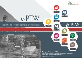 Permit to Work (PTW) Software: Permit Control, Isolation & Control, Job Hazard Analysis