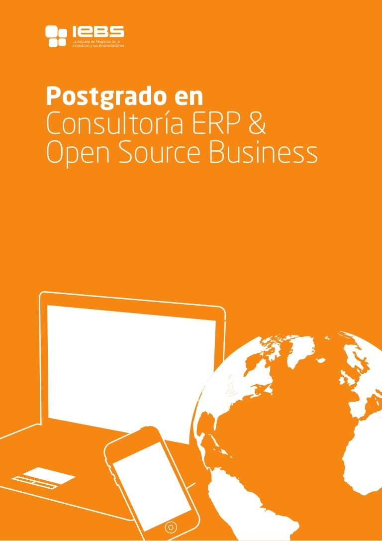 Postgrado en Consultoría ERP & Open Source Business
