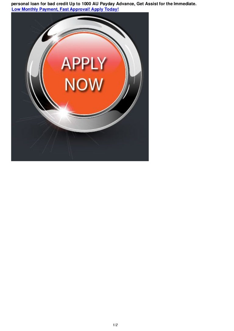 Loans For Bad Credit With Monthly Payments >> Personal Loan For Bad Credit 200 1000 Pay Day Loans In