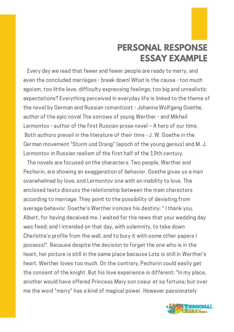 Essay format teel