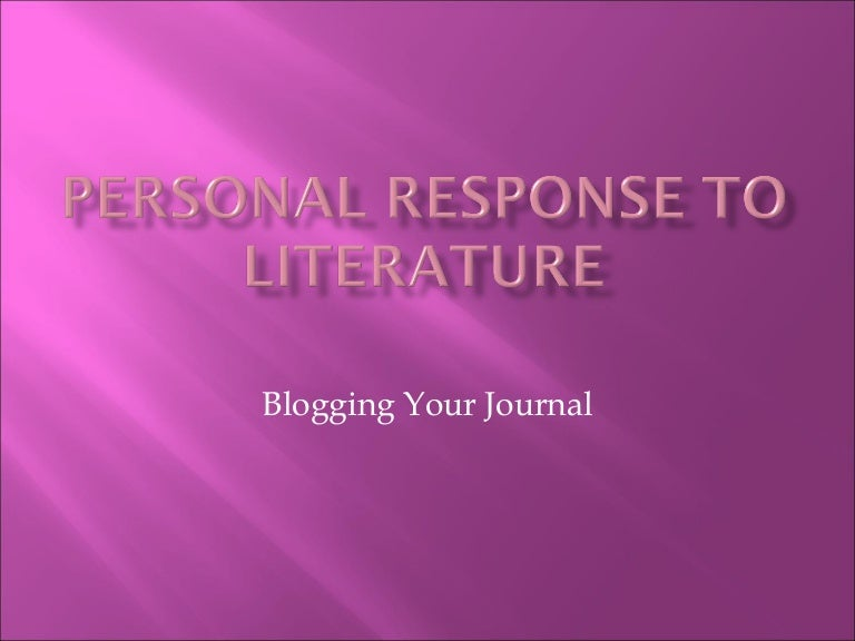 personal response to wordsworth Below is an essay on personal response to william wordsworth from anti essays, your source for research papers, essays, and term paper examples personal response to the poem i wandered lonely as cloud by william wordsworth.
