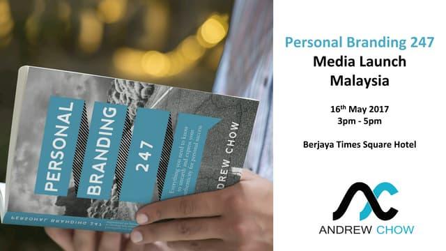 Personal Branding 247 Book Launch