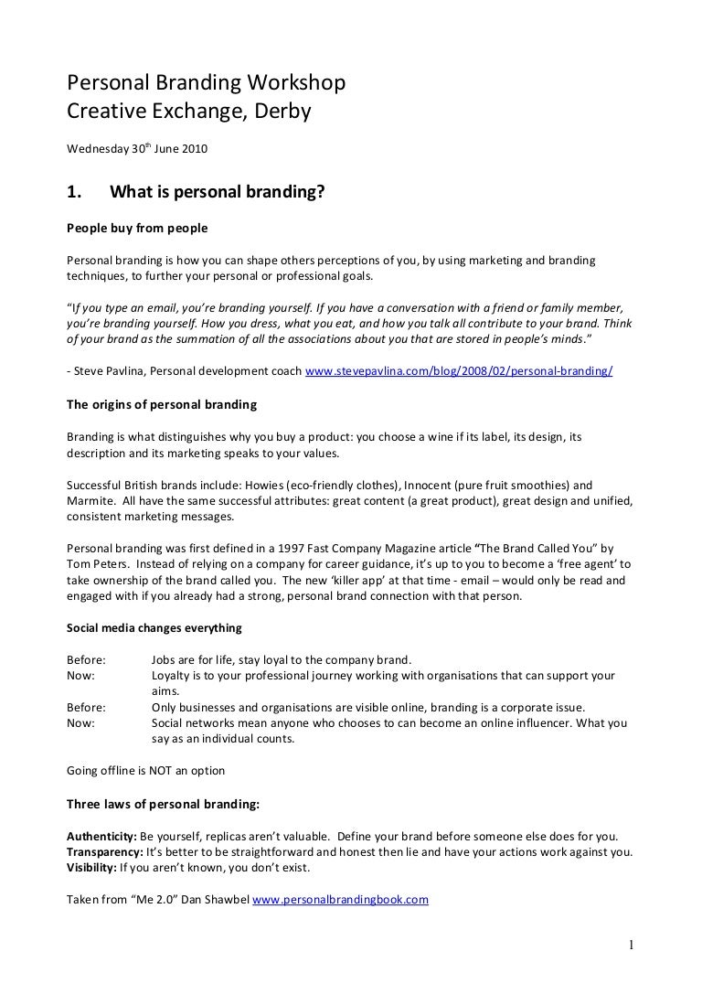 personal branding in the digital age