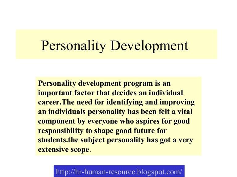 SlideShare  Personal Development Example