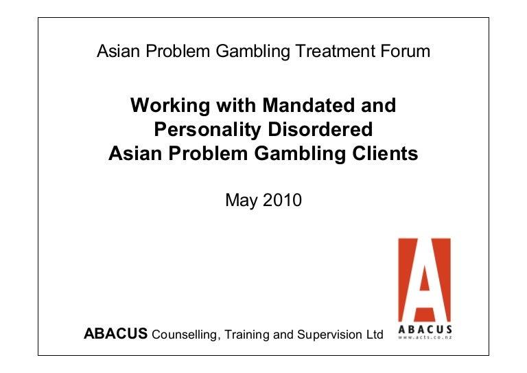 Problem gambling personality scott tom gambling