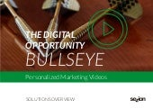 Personalized Videos Solutions for Marketers