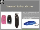 #Personal safety alarms