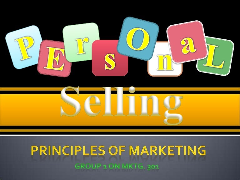 Personal selling byjb
