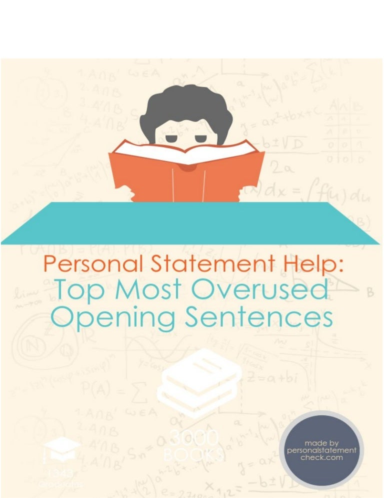 personal statement help discover the most overused opening sentences