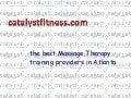 Personal training certification atlanta