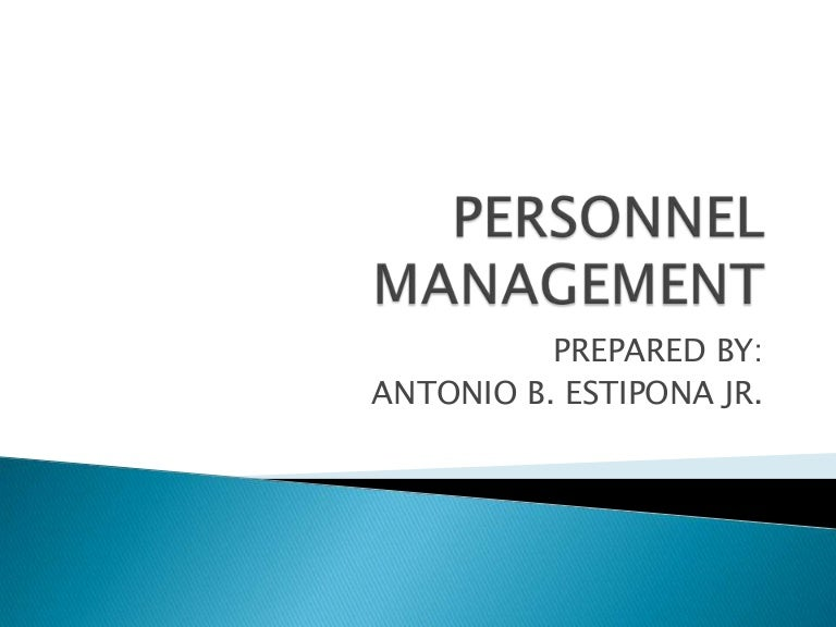 personnel management book pdf free