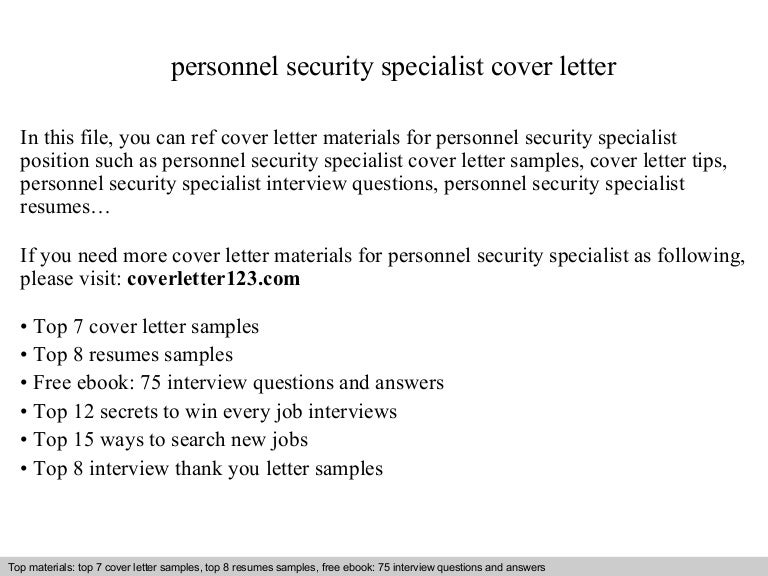 Security Specialist Resumes