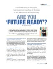 Nikolas Badminton in Perspectives Magazine - Are you 'Future Ready'?