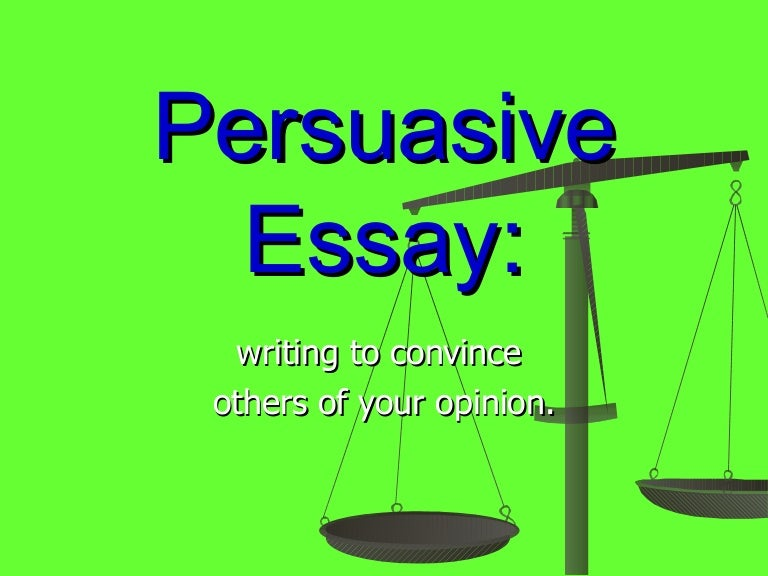 What A Persuasive Essay Looks Like - image 11
