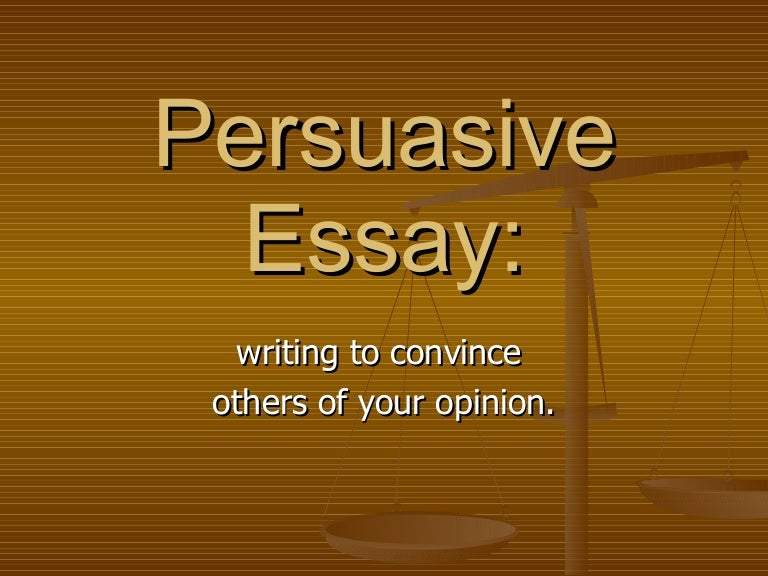 The Argumentative Essay Powerpoint Presentation - image 6