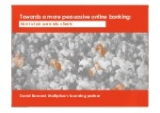 Persuasive Banking Report